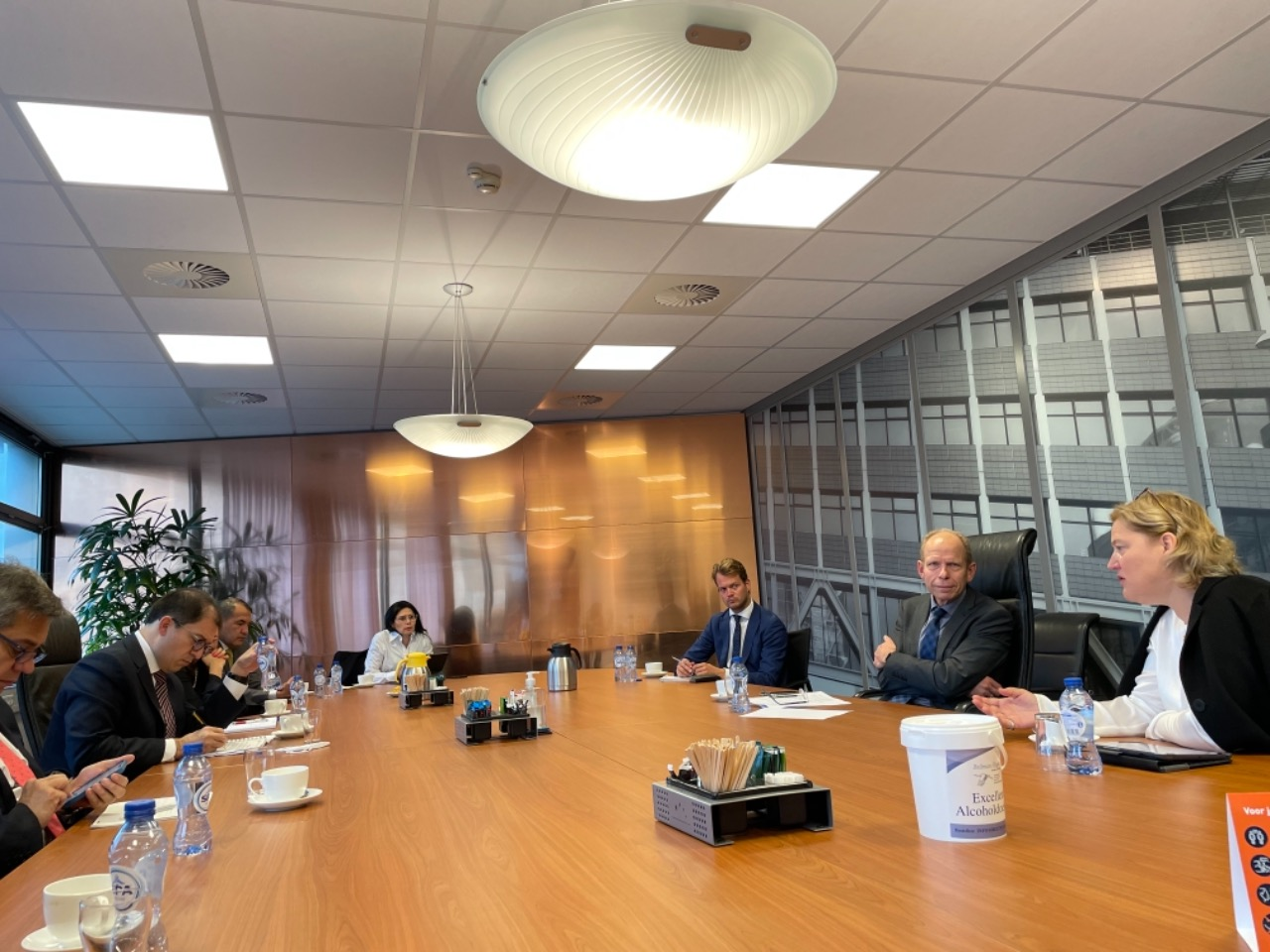 Fiscal Francisco Barbosa se reunió con el Presidente de la Junta de Fiscales Generales, Gerrit Van der Burg - Noticias de Colombia