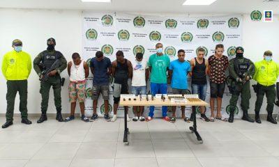 Fiscalía judicializó a 8 presuntos integrantes de la subestructura Los Espartanos de la organización criminal La Local - Noticias de Colombia