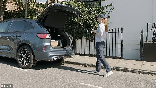Los conductores de Ford ahora pueden optar por recibir el paquete en el maletero de su automóvil, como parte de un nuevo piloto en el Reino Unido, pero implica la apertura del maletero cuando ni siquiera están allí.