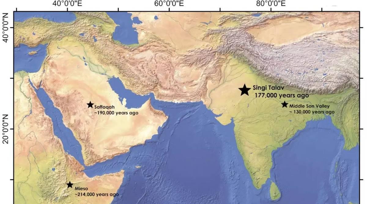 India acogió a las poblaciones más jóvenes de antepasados humanos 'achelenses', según un estudio