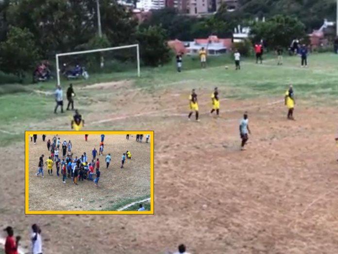 Integración Domingo, sancocho y la final del campeonato de fútbol terminaron en fuerte tanda de penaltis en Terrón Colorado, Cali - Noticias de Colombia