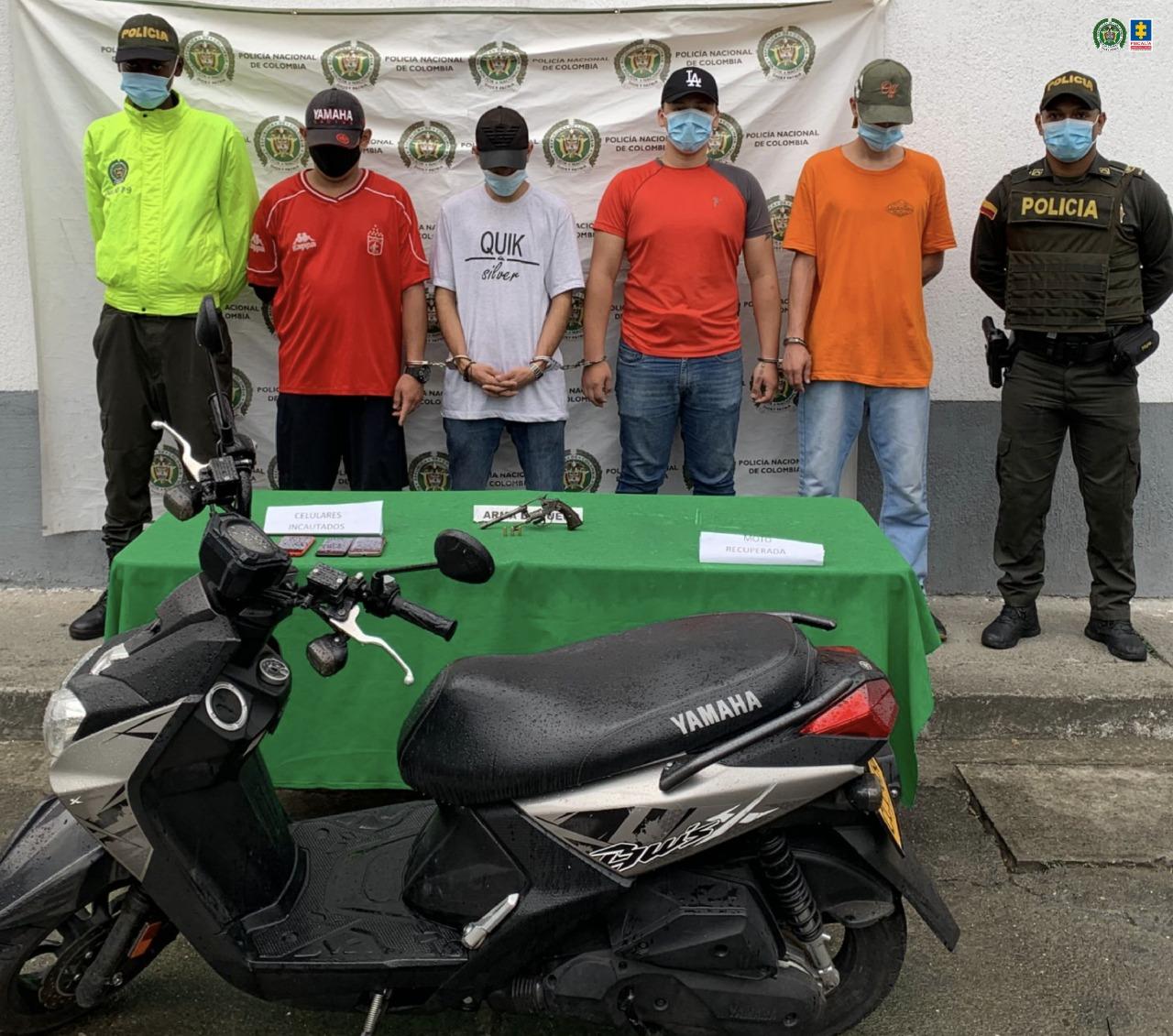 Judicializadas cuatro personas por fabricación, tráfico, porte o tenencia de armas de fuego - Noticias de Colombia