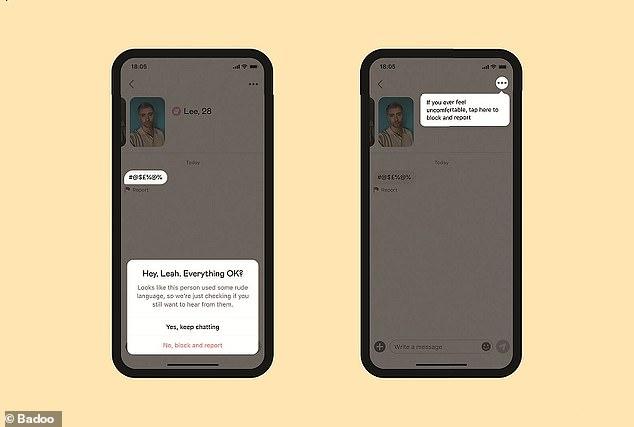 El Detector de mensajes groseros identifica los mensajes abusivos o hirientes enviados en el chat en tiempo real y anima a los usuarios a bloquearlos y denunciarlos de inmediato,