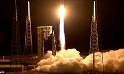 Lucy, en la foto, se puso en órbita el sábado a las 5:34 am en un cohete Atlas V de United Launch Alliance desde la Estación de la Fuerza Espacial de Cabo Cañaveral en Florida.