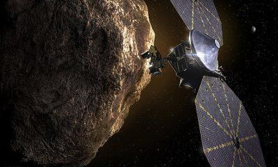La NASA dijo que uno de los paneles solares en su nave espacial Lucy no está 'completamente bloqueado'