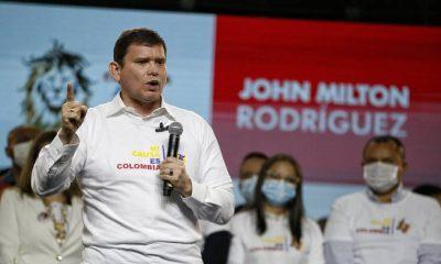 Las razones que llevaron al senador John Milton Rodríguez a la carrera por la Presidencia