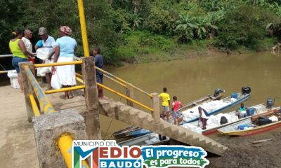 Más de 2.160 ayudas humanitarias fueron entregadas de forma satisfactoria en el municipio del Medio Baudó. - Noticias de Colombia