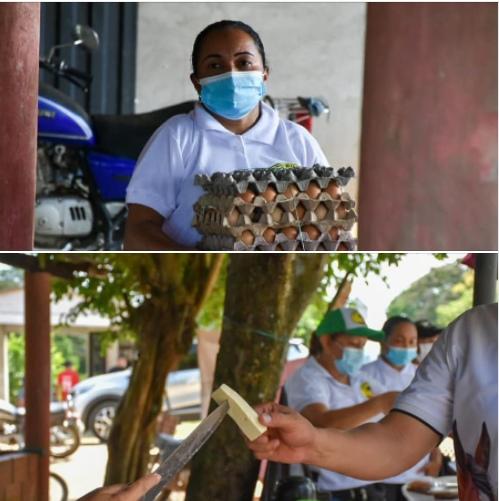 Mercado campesino en la vereda Chaparrito - Noticias de Colombia