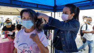 Mujeres de Popayán donan su cabello para personas enfermas de cáncer - Noticias de Colombia