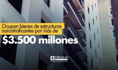 Ocupan bienes de estructuras narcotraficantes por más de $3.500 millones