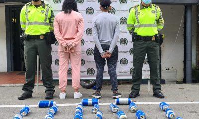 Por presuntamente transporte de más de 14 kilos de marihuana en sus equipajes, dos personas fueron enviadas a prisión - Noticias de Colombia