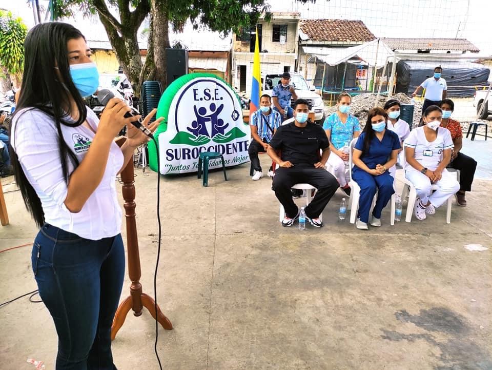 Se dio apertura a los servicios en salud de primer nivel de manera permanente en el puesto de salud de San Joaquín en Mercaderes , Cauca - Noticias de Colombia