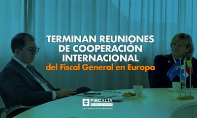 Terminan reuniones de cooperación internacional del Fiscal General en Europa - Noticias de Colombia