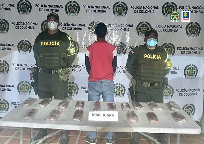 Tres hombres fueron cobijados con medidas privativas de la libertad por presunto transporte y porte de estupefacientes en Putumayo