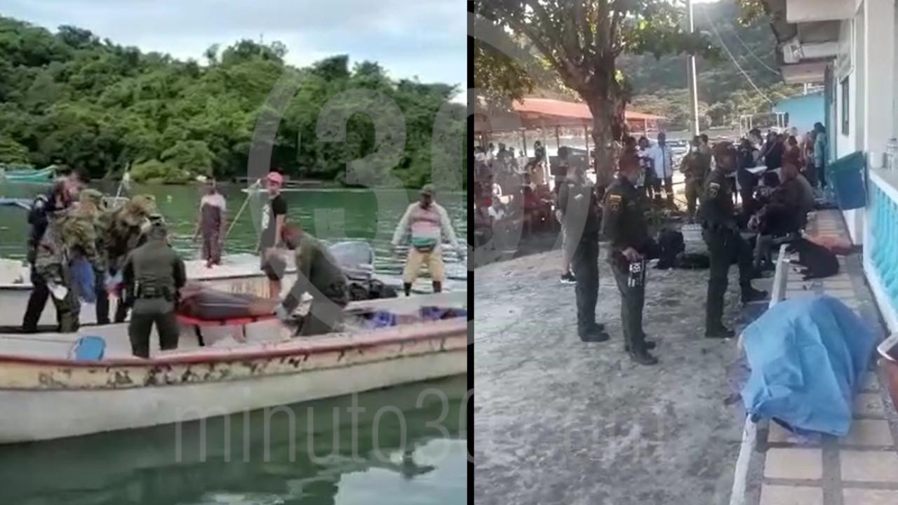 Tres niños haitianos y dos adultos continúan desaparecidos tras naufragio en aguas del Golfo de Urabá - Noticias de Colombia