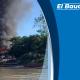 Un voraz incendio destruyó 22 viviendas en el corregimiento de San Rafael de Neguá. - Noticias de Colombia