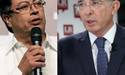 """Uribe acusa a Petro de """"cobarde incitación a la violencia"""", ante propuesta de comprarle tierras"""