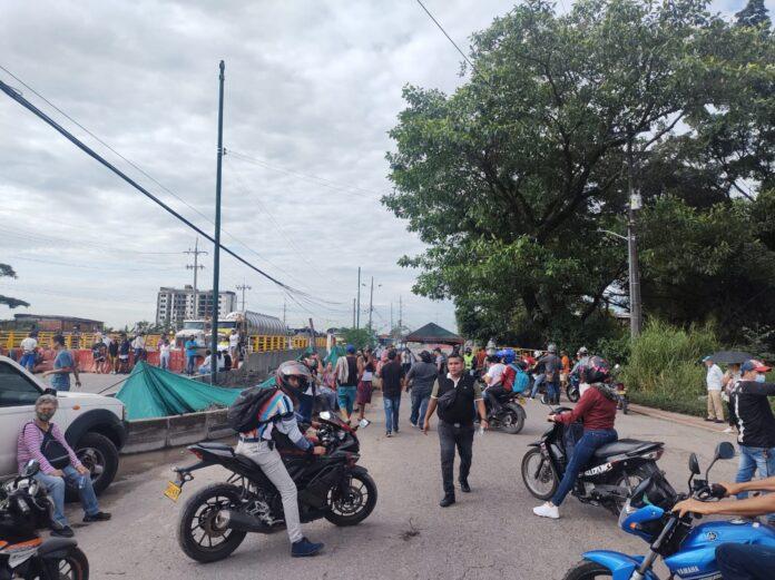 Viernes de caos vial en el sur de Villavicencio - Noticias de Colombia