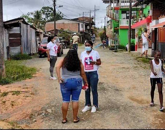 Hospital Luis Ablanque de la plata descentraliza vacunación covid 19 en Buenaventura. inició en el barrio Vista Hermosa, comuna 12